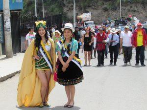 La Reina de Baños y la Cholita Bañense